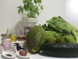 Gazpacho Andaluz Verde - Dieta Crudivegana