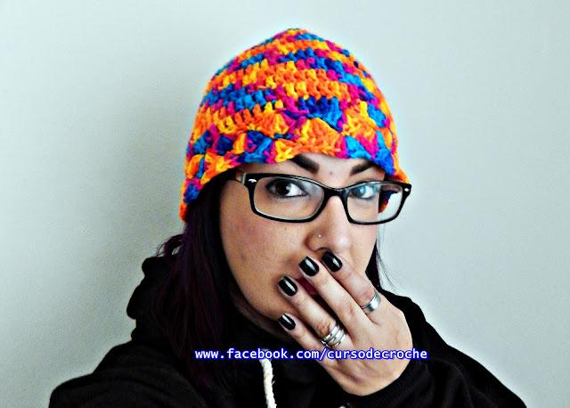 croche gorro touca chapéu inverno folia edinir aprender croche curso de croche youtube
