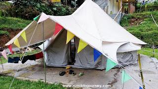 tenda glamping bogor