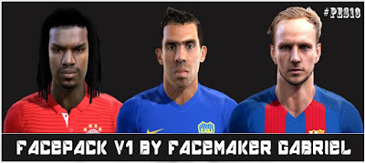 Facepack V1 Pes 2013 by Facemaker Gabriel
