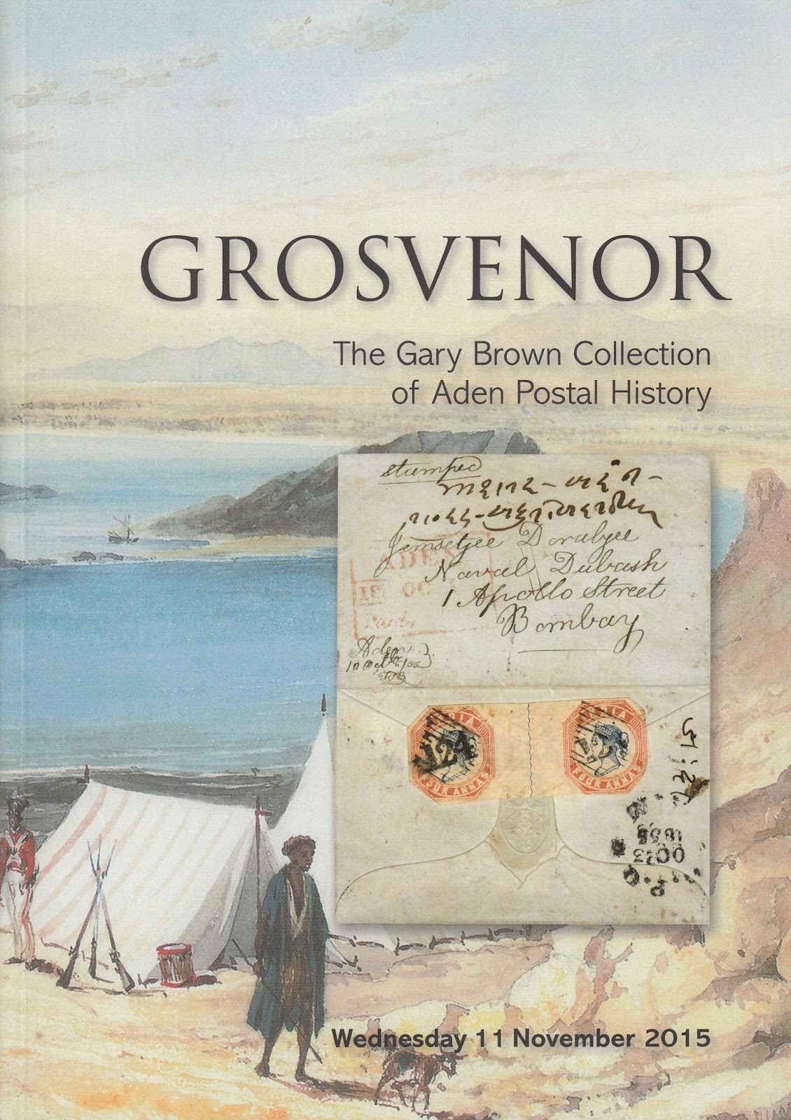 The Gary Brown Collection, Aden Postal History, Grosvenor