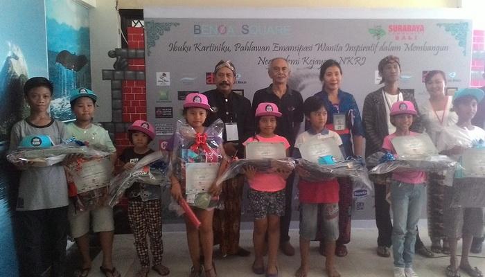 Ikuti Lomba Mewarnai Anak Anak Antusias Mengenal Sosok Ra Kartini