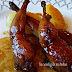 Muslitos de codorniz marinados y con salsa moscatel