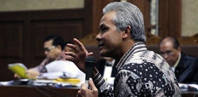 Gerindra: Seharusnya KPK Tetapkan Ganjar Jadi Tersangka
