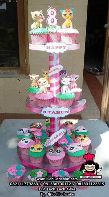My Little Pet Shop Cupcake Tier