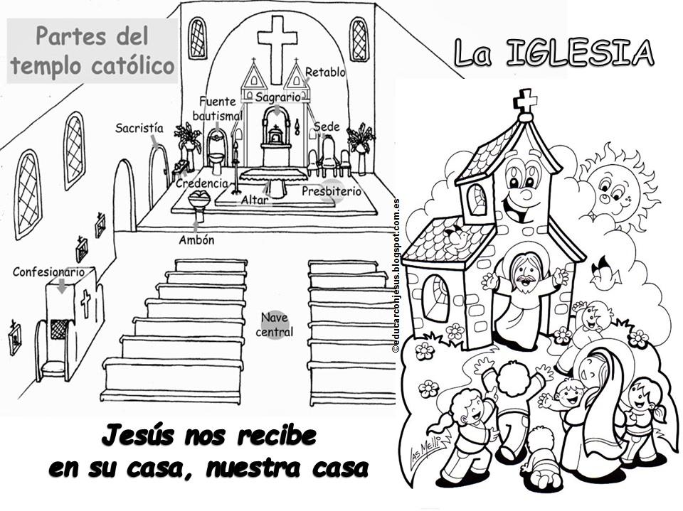 Educar con Jesús: La Iglesia. Jesús nos espera