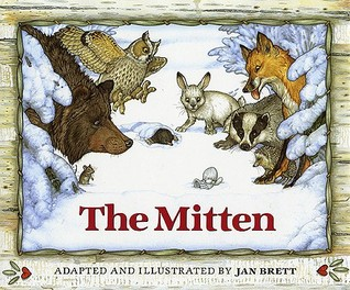 The Mitten book activities for Kindergarten