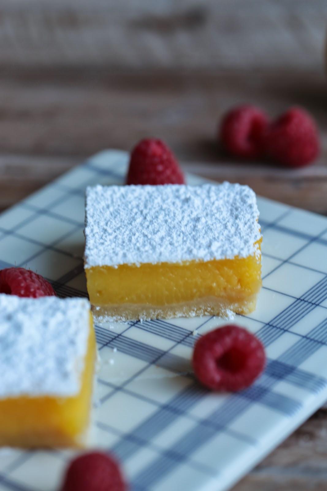 citron ,dessert américain , facile , rapide