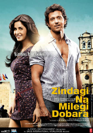 Zindagi Na Milegi Dobara 2011 Hindi Movie 480p BluRay 450Mb