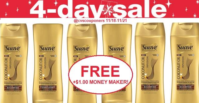 http://www.cvscouponers.com/2018/11/CVS-deal-1118-1121-free-Moneymaker-Suave-Shampoo-Conditioner.html
