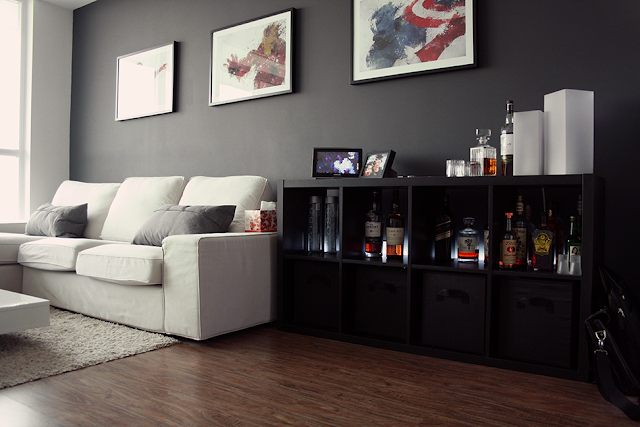 This living room works because of the right couch