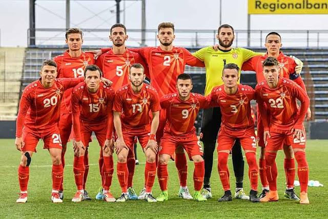 U21 EM2021 Qualifikation: Mazedonien erwischt schwere Gruppe mit Spanien