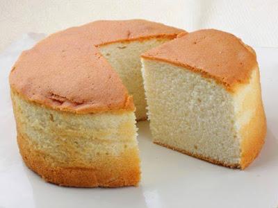 Resepi Kek Span Vanilla