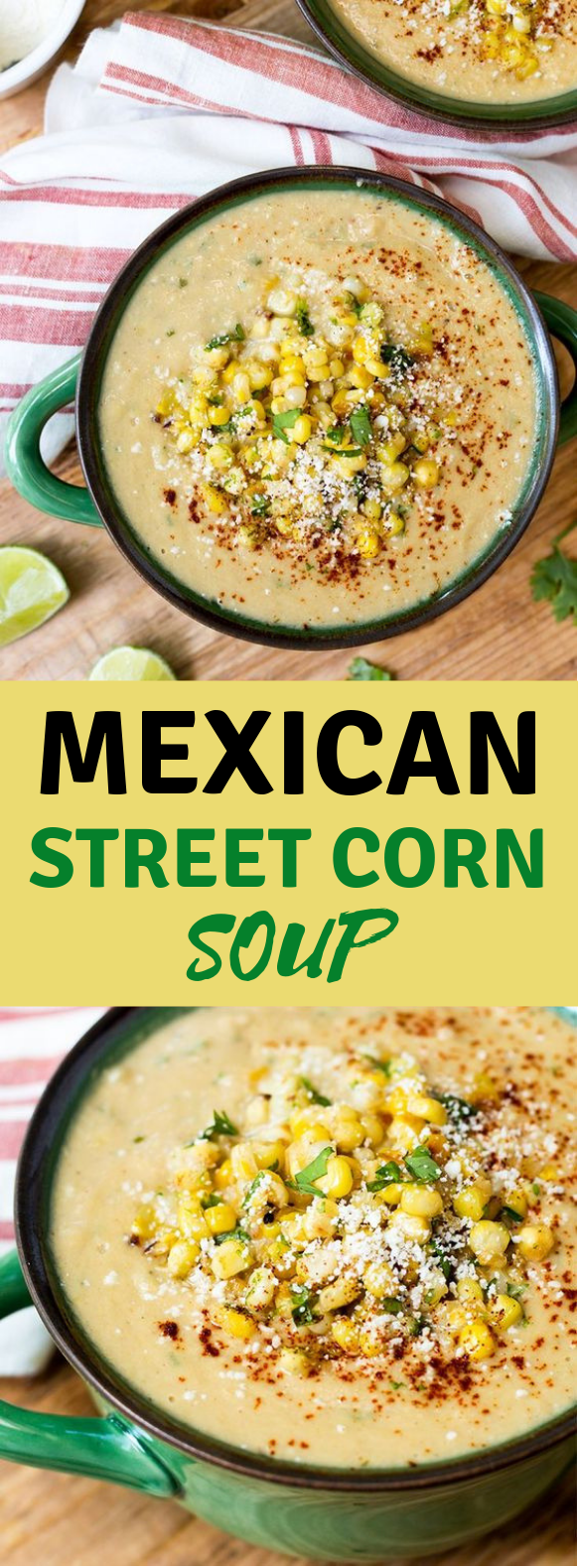 MEXICAN STREET CORN SOUP #Soup #Lunch