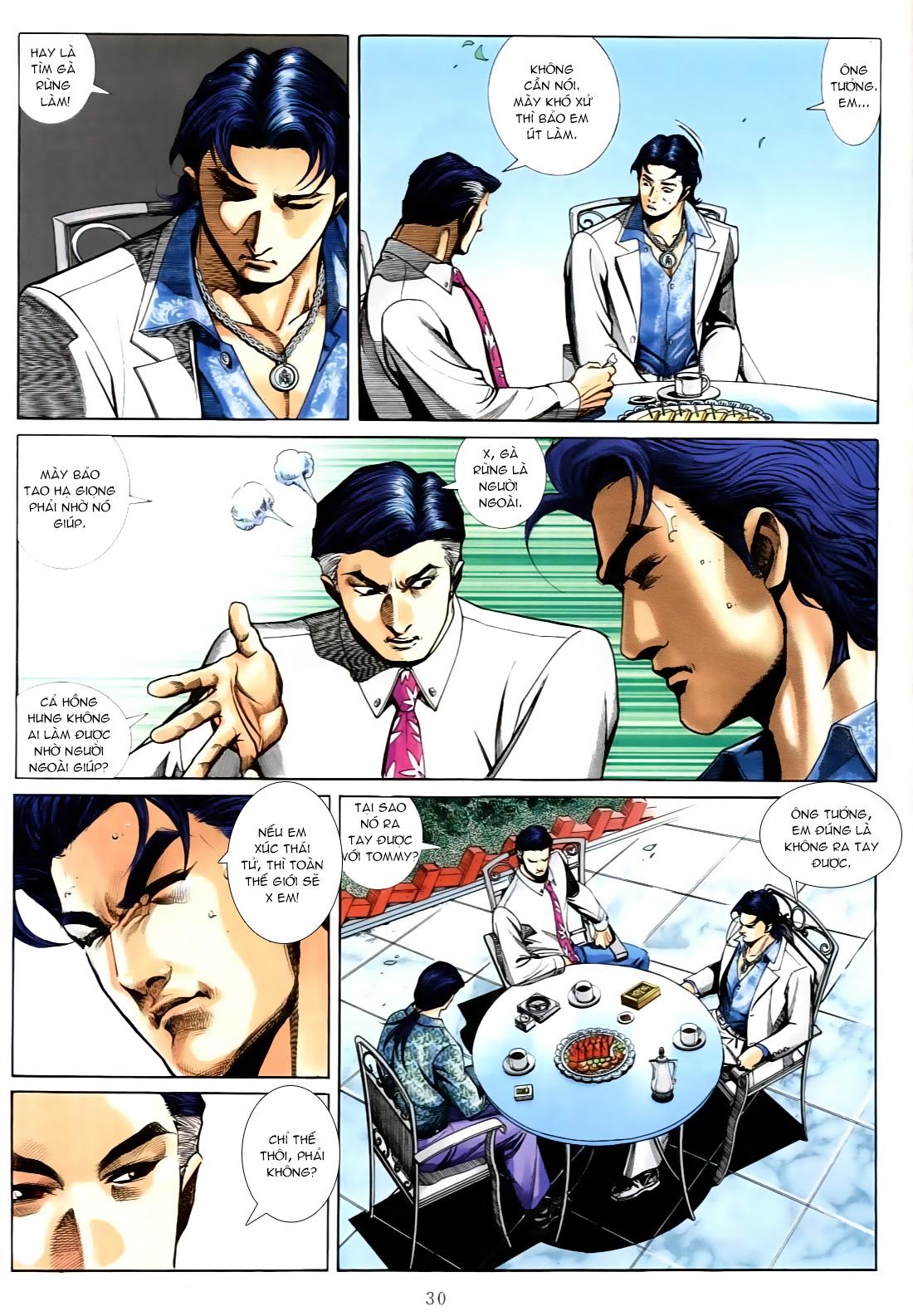Người Trong Giang Hồ chapter 556: làm khó nam đẹp trai trang 22