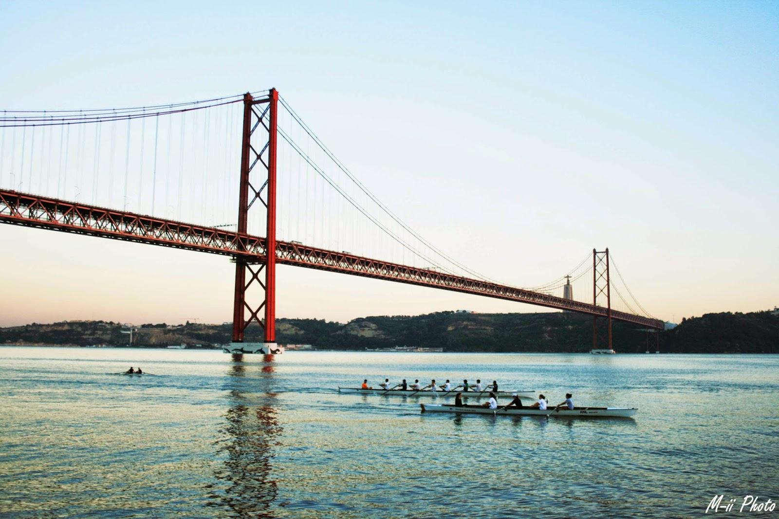 M-ii Photo : 10 choses à faire à Lisbonne Pont du 25 Avril Lisbonne