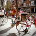 Sala Nómada, arte en el espacio publico en bicicleta