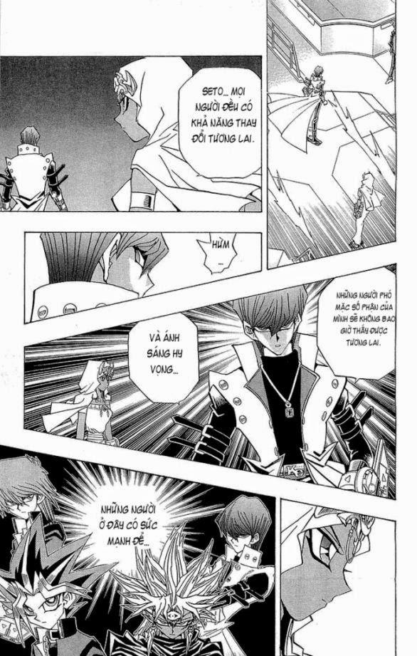 YUGI-OH! chap 230 - thay đổi tương lai! trang 14
