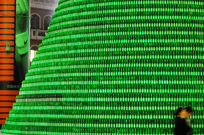 Heineken Beer Bottle Tree