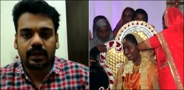NRI attends his marriage online from Saudi