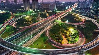 Jakarta waktu malam