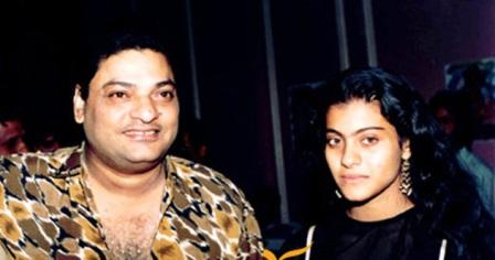 Kajol with father Shomu Mukherjee