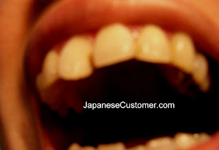 Japanese dental visit copyright Peter Hanami 2012