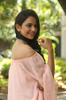 Rakul Preet Singh in lovely Pink Crop Top and Black Trousers at Jaya Janaki Nayaka success meet 029.JPG