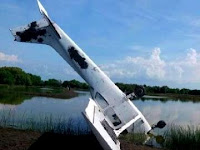 Detik-detik Pesawat Jatuh di Tambak Demak, Ini Pengakuan Pilot