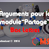 """Module """"Le partage"""" Bac Lettres (exemple d'argument)"""