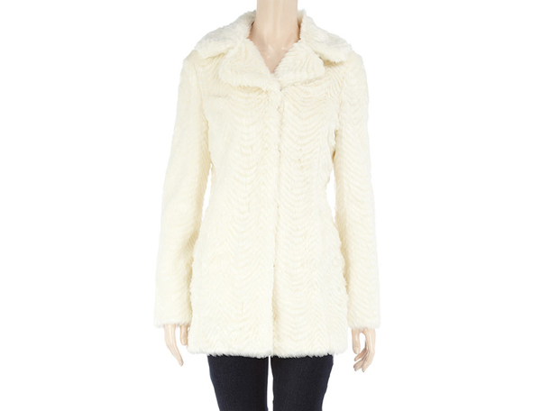 The Cream-Colored Leather Jacket by Sandro
