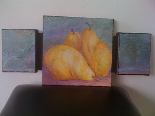 pear, painting