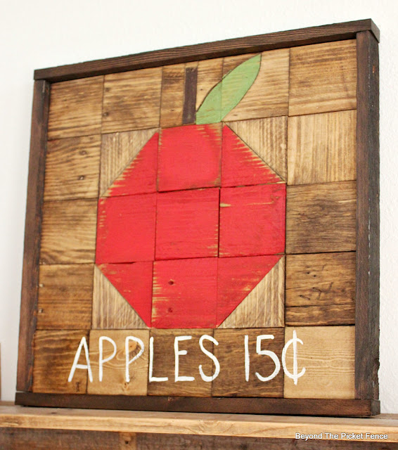 Apple Quilt Square