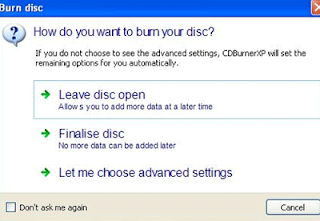 CD Burining free Softwar