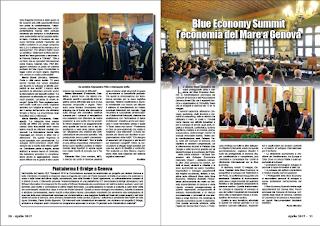 APRILE PAG. 21 - Blue Economy Summit l'economia del Mare a Genova
