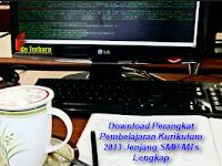 Download Perangkat Pembelajaran Kurikulum 2013 Jenjang SMP/MTs Lengkap