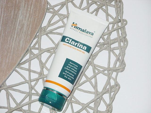 Recenzja: Antybakteryjny żel do mycia twarzy Clarina, Himalaya Herbals