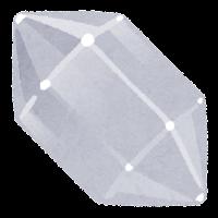 鉱石のイラスト(透明)
