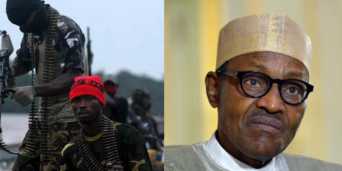 Despite Buhari's meeting with elders, militants blow up oil pipeline in Delta
