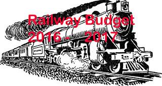 Railway Budget 2016 - 2017 : Passengers priorities