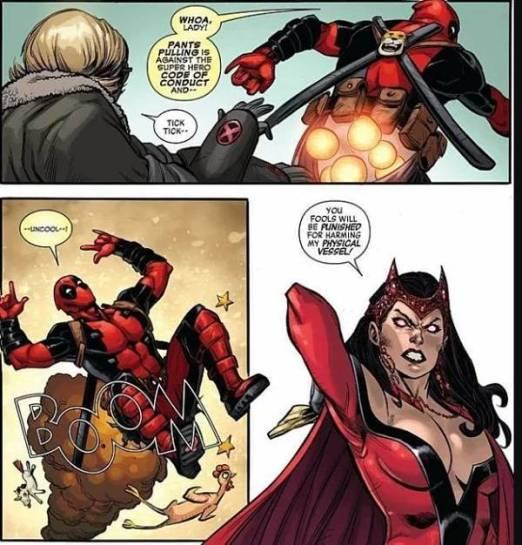 Macan Lucu Cisewu Muncul Di Komik Marvel Deadpool