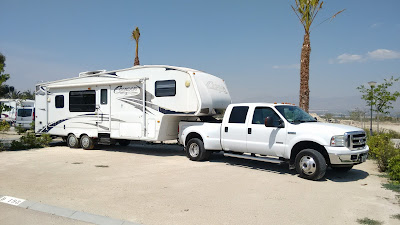 5th wheel towing and transport service Spain - Europe