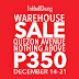 Folded and Hung P350 Below Warehouse Sale - December 18-31, 2016