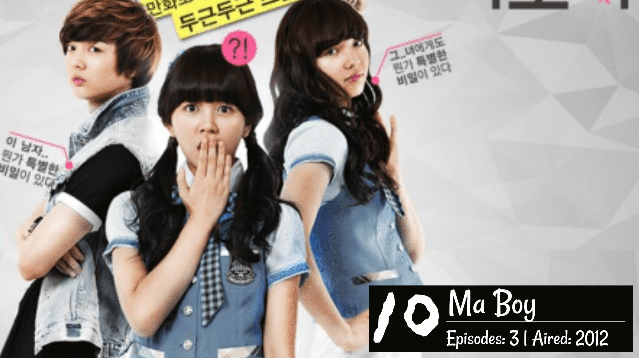 Top 20] Favorite 'Gender Benders' Girls in Disguise Korean