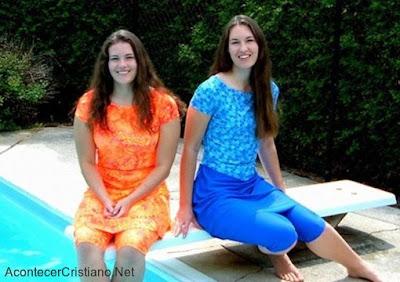 Ropa de baño para mujeres cristianas