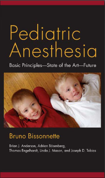 Pediatric Anesthesia [PDF]- Bruno Bissonnette