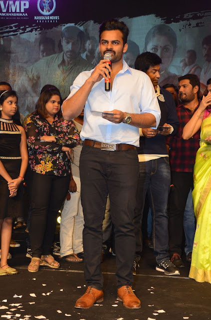 Actor Sai Dharam Tej Stills at Balakrishnudu Movie Audio Launch