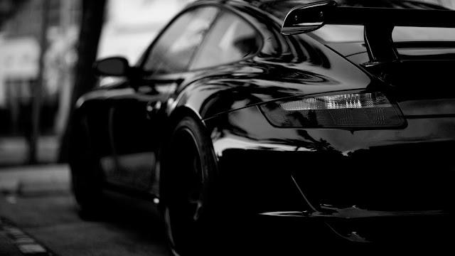 Black Porsche HD Wallpaper   1920x1080