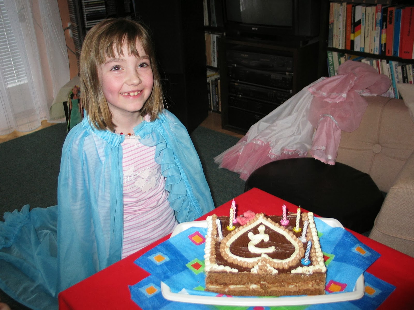 Oslava sedmých narozenin