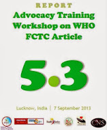 CNS Report: WHO FCTC Article 5.3 Workshop